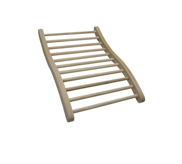 Ergonomische Rückenlehne | für Easy-Sun Infrarotkabinen | Hemlockholz