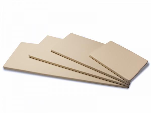 Kissen mit Reißverschluss für Infrarotkabine, Abmessung: 43 x 89 x 3 cm