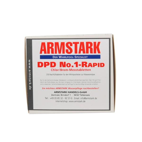 Chlor- und Brommesstabletten DPD1 von ARMSTARK